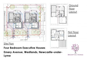 Sandycroft Construction housing development site plan
